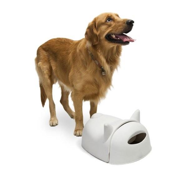Миска для собак Мистер Дог, черный