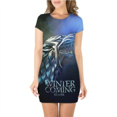 Платье 3D Зима близко