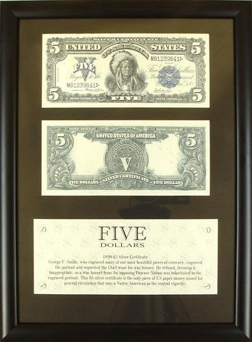 Панно настенное Пять долларов