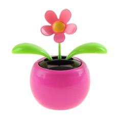 Маятник Цветочек в горшке, розовый