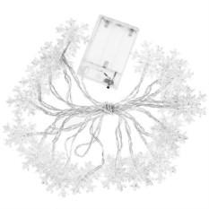 Декоративная светящаяся гирлянда Снежинки