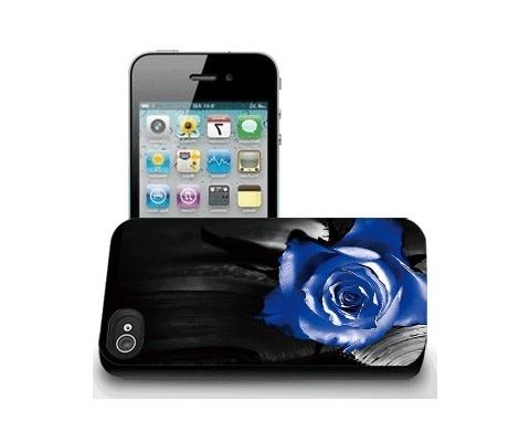 Панель для iPhone 4/4S «Синяя роза»