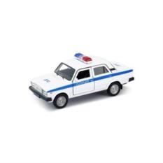 Инерционная машинка Welly 1:34-39 LADA 2107 Полиция