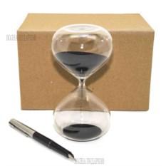 Песочные часы на 10 минут с черным песком