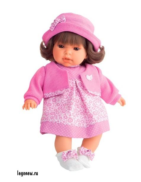 Озвученная кукла-малыш Памела в розовом