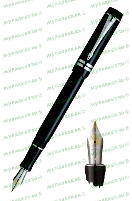 Перьевая ручка Parker Duofold International Black