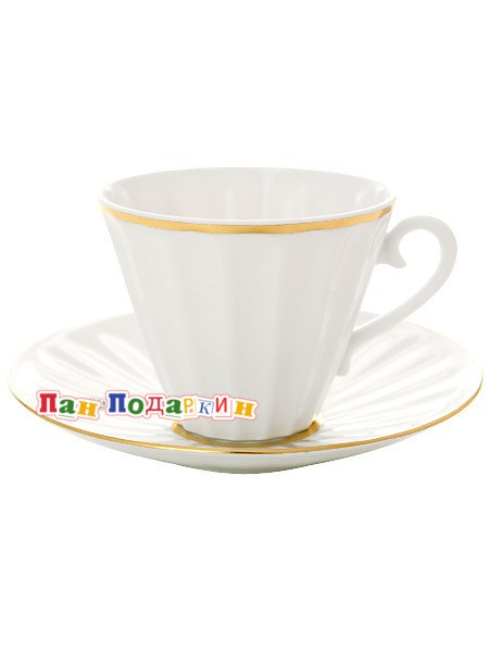 Чайный сервиз форма Лучистая с рисунком Белоснежка
