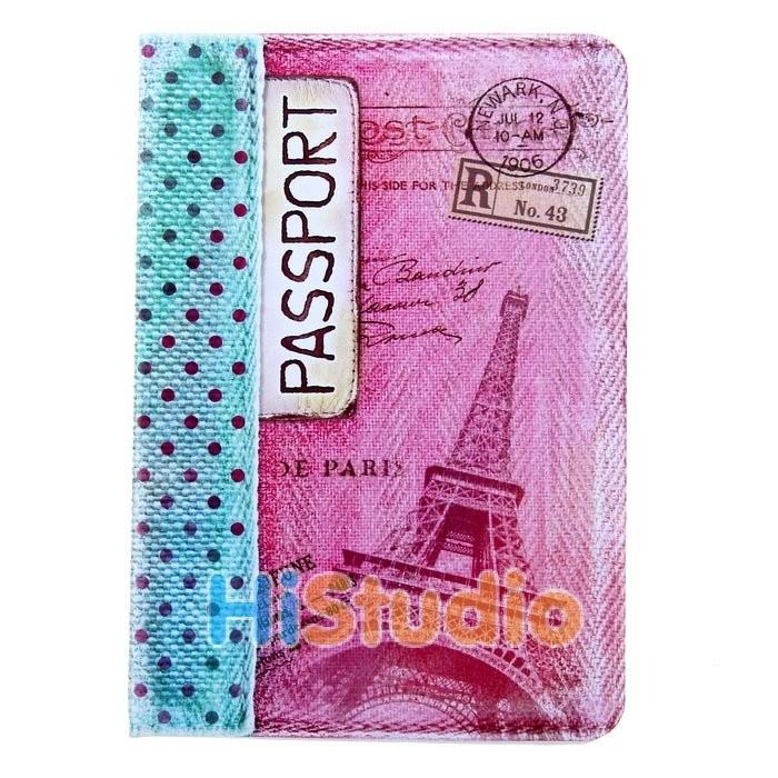 Обложка для паспорта В горошек