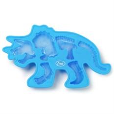 Форма для льда Синий динозавр Fossil iced