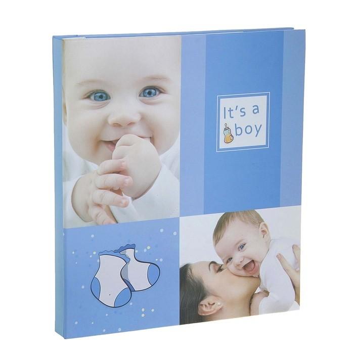 Магнитный фотоальбом  для новорожденного Boy