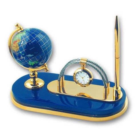 Набор: модель глобуса на подставке