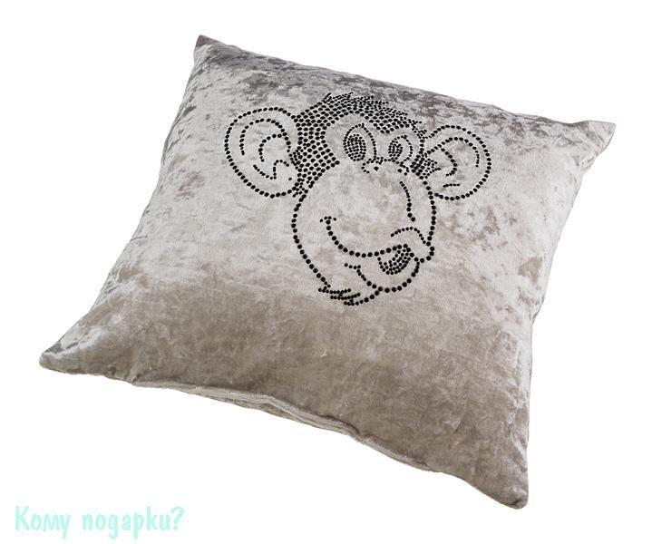 Декоративная подушка «Обезьяна Чи-чи», 35x35 см