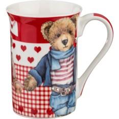 Кружка Медвежонок в джинсах, объем 300 мл