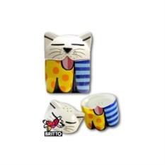 Набор для соли и перца коллекция Cat 1 от Britto