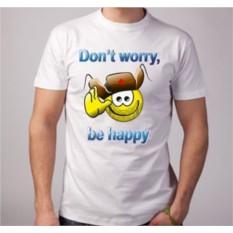 Футболка Don t worry, be happy