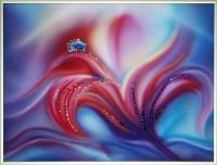 Картина Swarovski Аленький цветочек