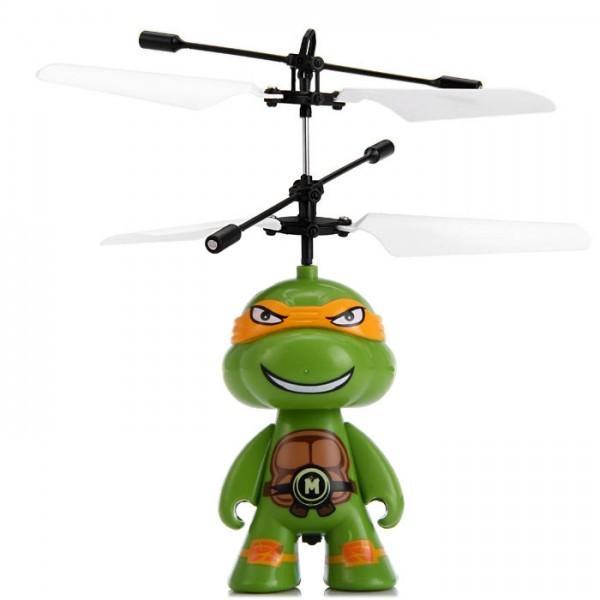 Радиоуправляемая игрушка-вертолет Черепашки Ниндзя