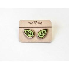 Сережки WafWaf Листики