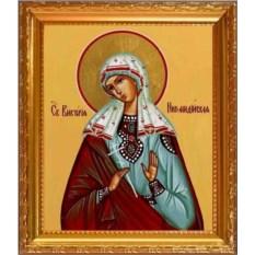 Виктория Никомидийская Святая мученица. Икона на холсте.