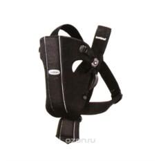 Черный рюкзак-кенгуру BabyBjorn Original Organic