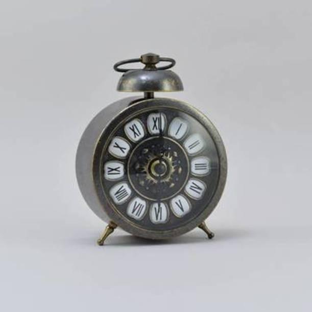 Часы стилизованные под будильник Антик
