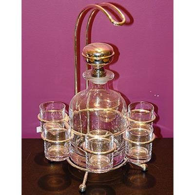 Набор для водки: 6 бокалов и графин