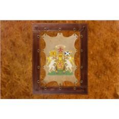 Картина из кожи Семейный герб ElolE Interior