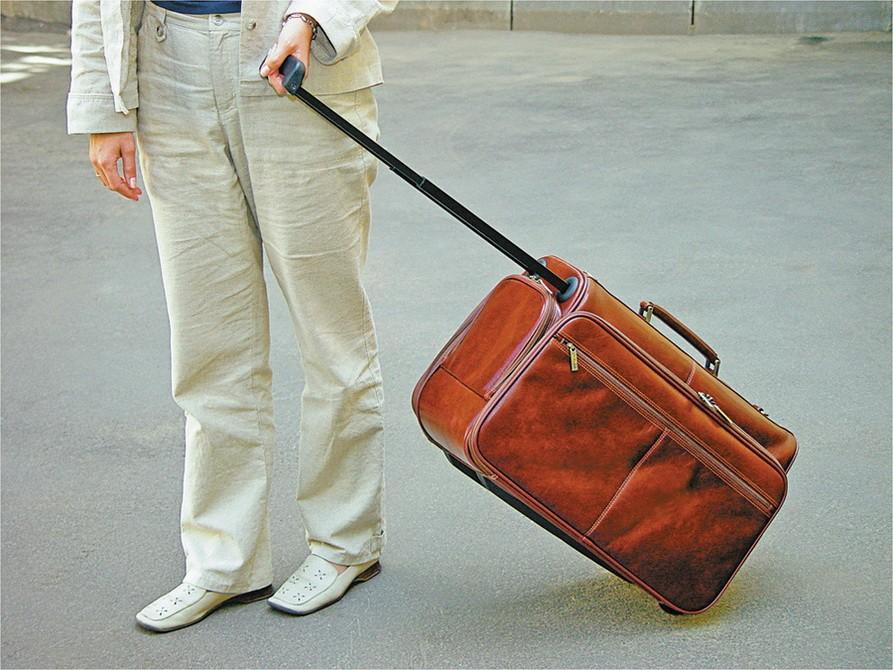 Сумка-портфель Багамы S.Babila из натуральной кожи, коньяк