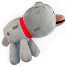 Плюшевая игрушка Волк (Minecraft, 22 см)