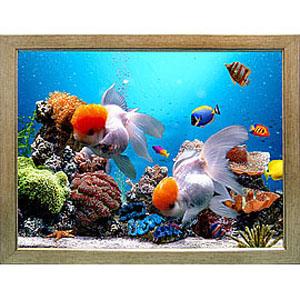 Объёмная 3D картина «Морской аквариум»