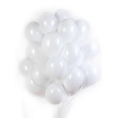 Белые матовые шарики