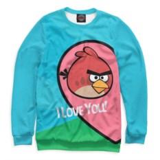 Свитшот Angry Birds in love