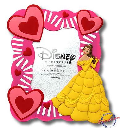 Фоторамка: Принцесса в золотом платье