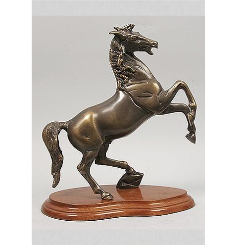Бронзовая статуэтка Лошадь на дыбах