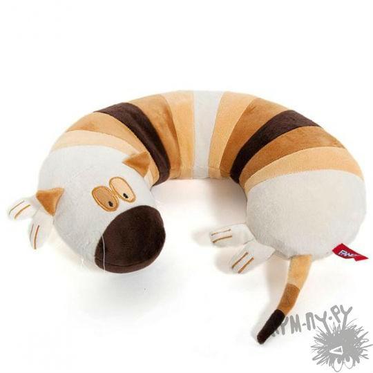 Подушка под шею Кот Валик