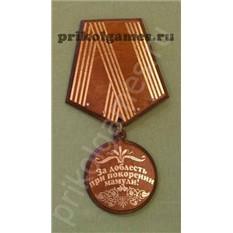 Ключница Медаль. За доблесть при покорении Мамули!