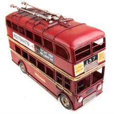 Ретро-модель Красный лондонский троллейбус