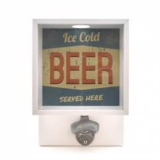 Копилка для пивных крышек с открывашкой Beer
