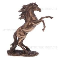 Декоративная фигурка Конь (цвет — бронзовый)