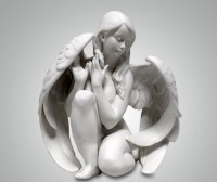 Фарфоровая статуэтка ''Ангелочек''