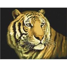Картина по номерам Царь зверей
