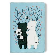 Обложка для паспорта The Family of Bears