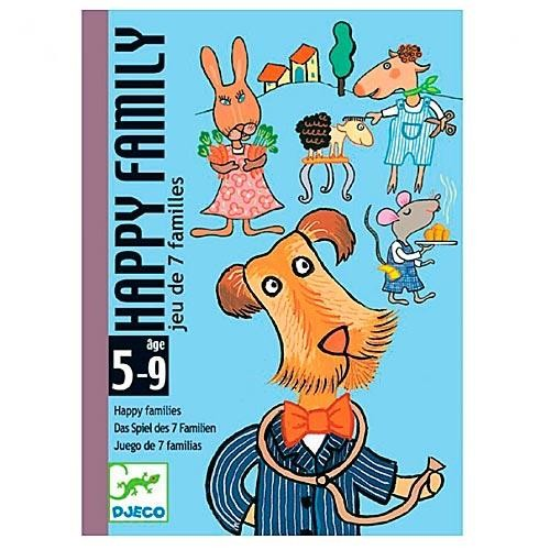 Карточная игра Djeco Счастливая семейка