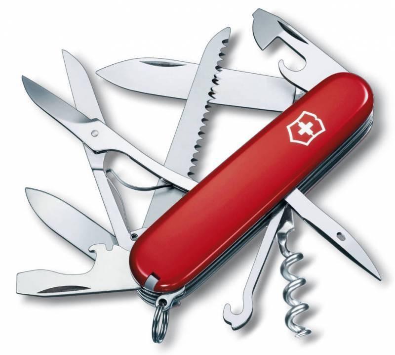 Перочинный нож с 15 функциями Victorinox Huntsman