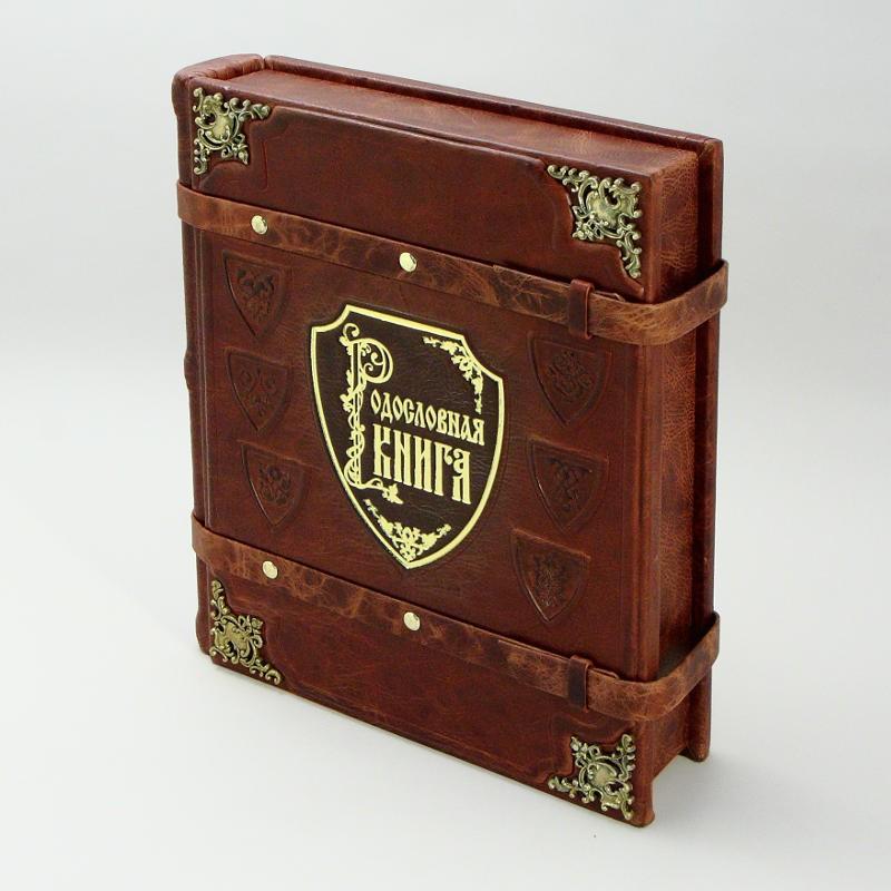 Родословная книга в подарочном коробе Элитная