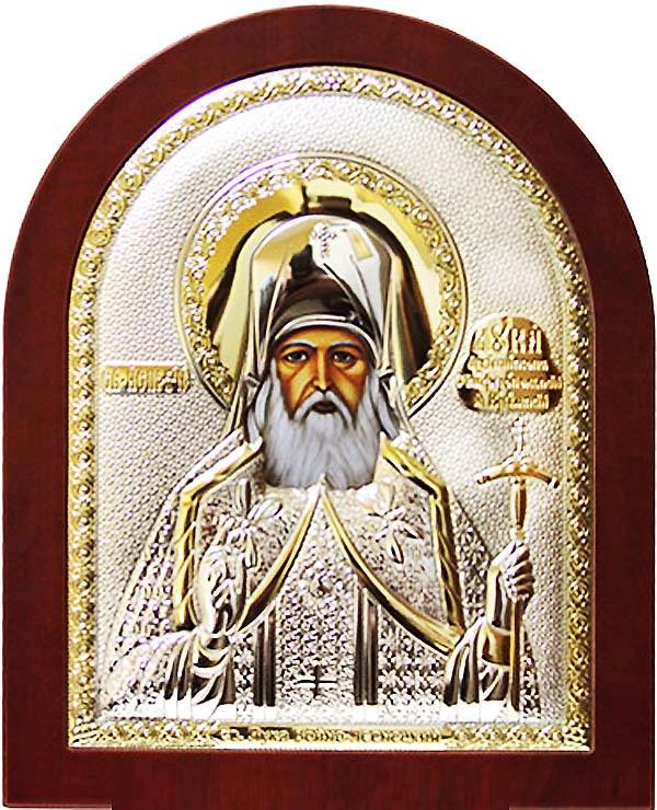 Икона в серебряном окладе Лука Крымский и Симферопольский Святитель