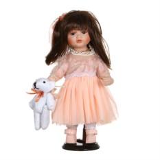 Фарфоровая кукла Эрикас мягконабивным туловищем