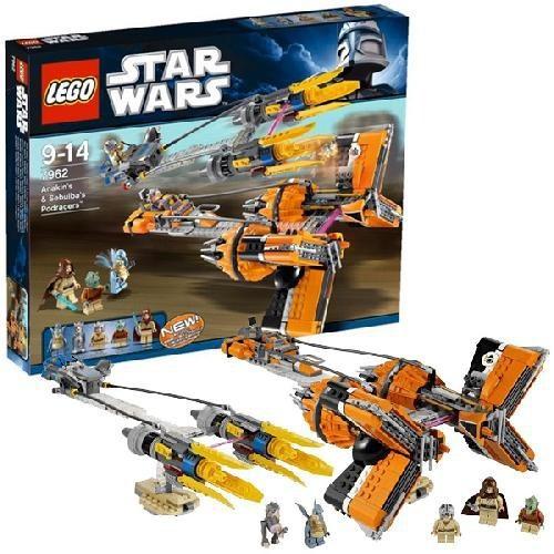 Игрушка LEGO Гоночные капсулы Анакина и Себулбы