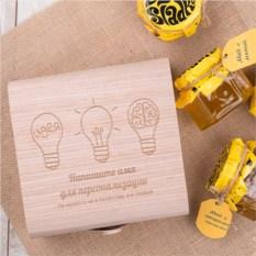 Подарочный набор мёда Для мудрых идей