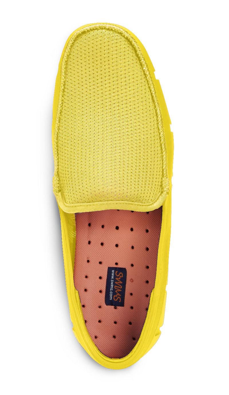 Мокасины Swims Flat Front, лимонные